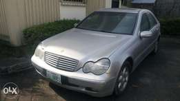 Registered Mercedes Benz c200 bought brand new