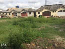 2 plots of Land+ 4 units of 2 bedroom for sale in Abijo in an estate