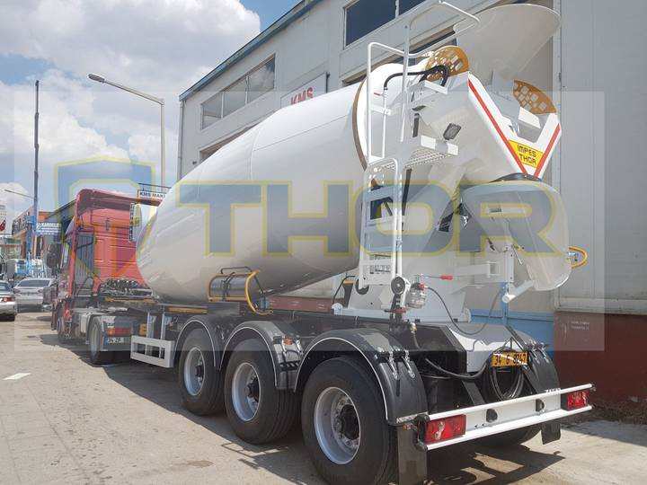 MIXER SEMI TRAILER THR-MXR-15