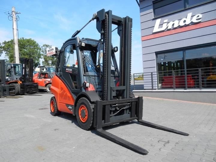 Linde H50T-02 Side shift - 2014