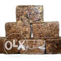 Cleansing black soap made with fine Ingredients