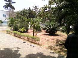 Classic Beach Plot for sale in Nyali.