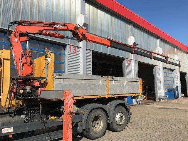 Atlas andere abrollcontainer mit kran  130.1 a4 abrollcontainer - 1992