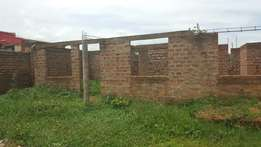 Unfinished House for sale on a 50*100 Piece of Land. No brokers please