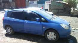Toyota spacio kbl 7 seater 1500cc 2003 edition at 520k
