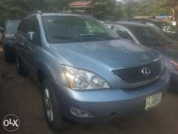 Perfectly used lexus rx350 08 fuloption tincan cleared buy n travel