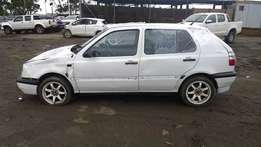 Golf 3 1997 model 1.8 CSX with papers stripping for spares