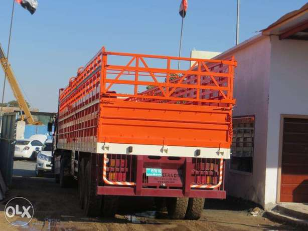 12 meter long trailer with side grill for loading loose load
