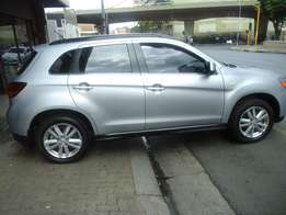 2013 model mitsubishi asx 2.0liter,silver,s roof,for sale