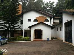 Peponi 6 bedrooms double storey house to let