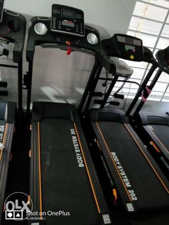 Treadmill body system