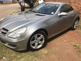 Mercedes Benz SLK Convertable