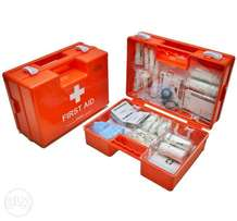 New Well Equipped Large Mountable Plastic First Aid Kit Free Delivery
