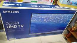 55 inch SAMSUNG smart Curved UHD 4K TV!!