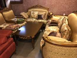 Quality Royal chair with set of royal center tables