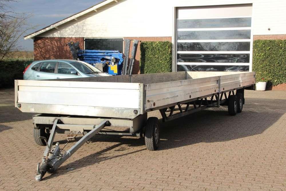 Trailer weytens 3 asser schamelwagen flatbed - 2003