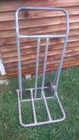 Two wheel furniture trolley