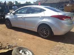 Hyundai Elantra 2014 parts available call us