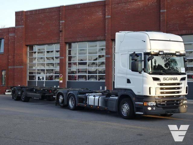 Scania R730 LB6x2*4MLB BDF + Krone trailer BDF - 2012