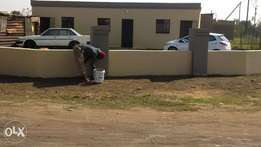 tiled and fenced rooms for rental next to Duduza rank.langaville ext 5