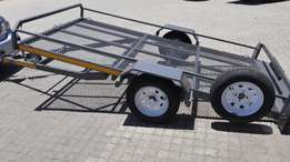 Golf cart or quad trailer