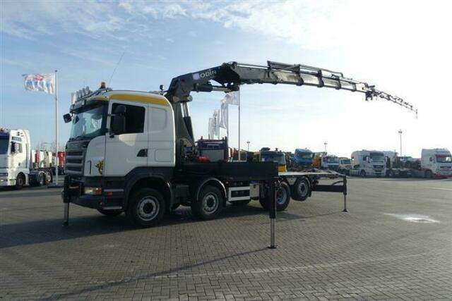 Scania R480 8x2 Hmf Odin O K5 With Jib Euro 4 - 2007