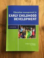 Education management in Early childhood development