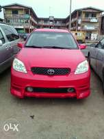 Toyota Matrix 2003 model Glossy Red color.