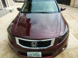 Very clean and sharp. 2010 HONDA Accord. With V6 engine.