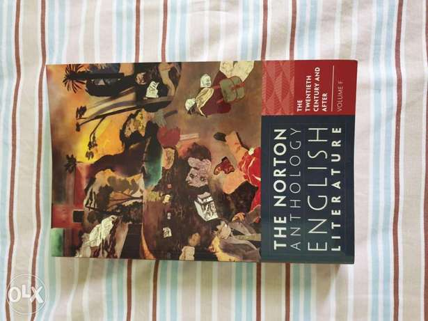 Norton Anthology/ English Literature