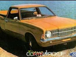 Ford Cortina bakkie wanted