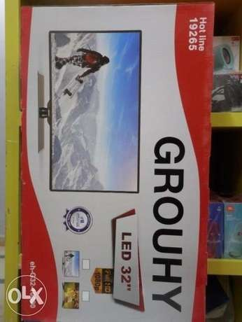 "أشتري شاشه جروهي ٣٢ بوصه GROUHY 32"" Full HD LED monitor ضمان٣سنوات"