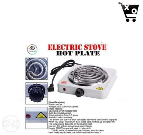 Electric Stove. 1$ (2,000) L.L