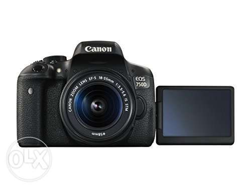 Canon EOS 750D Touch screen DSLR Camera with 18-55mm Lens brand new Nairobi CBD - image 2