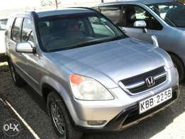 Honda Crv manual gear cc2000 very cln accident free