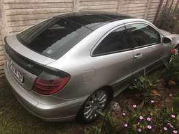 Mercedes c230coupe r39000