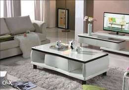 Center Table with Adjustable TV Stand Set