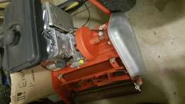 Professional cylinder roller lawn mower