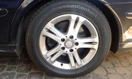 Mercedes Benz Rims and Tyres