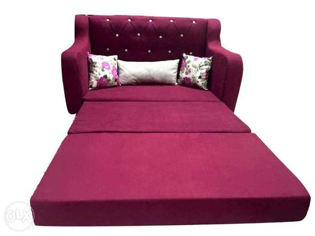 2x1 sofa bed for you and your children, without mechanics, to ensure t