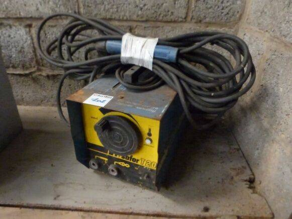 Safor T20 welding equipment for sale by auction