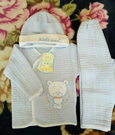 Новий комплект костюм для новонародженого хлопчика р62 Вінниця - зображення  1 82f20484ccb50