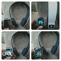 Sliver Colour Smart mini wrist watch/Bluetooth headset For sale/swap