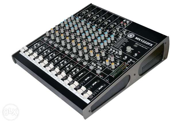 mixer top pro usa (12 input+effect+usb play) new in box