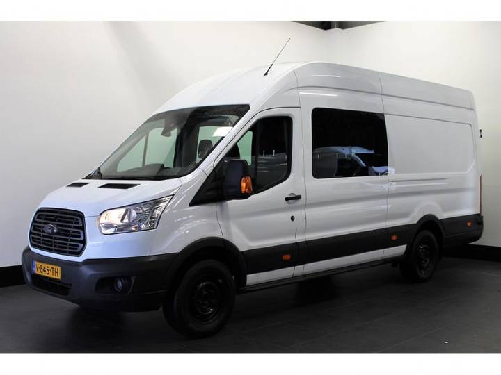 Ford Transit 350 2.2 Tdci 155pk L4h3 - Dubbele Cabine - Airco _ - 2014