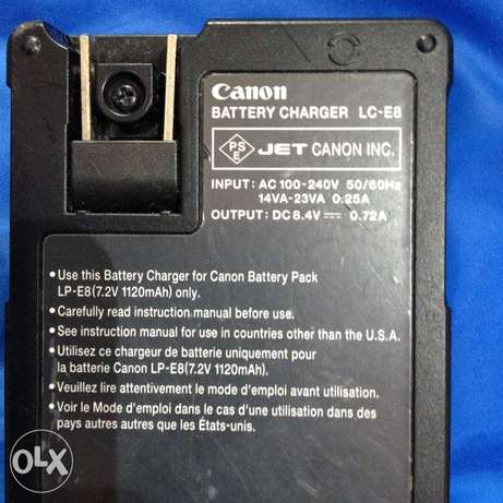 Canon LC-E8 Charger شاحن كانون
