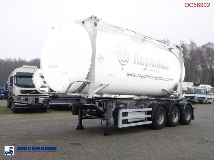 SDC Container trailer 20-30 ft + pump - 2004