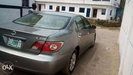 Registered Lexus Es300 available for sell