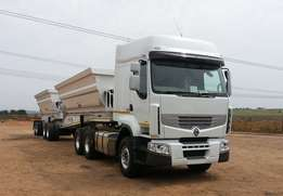 Side tippers wanted 34 ton super links