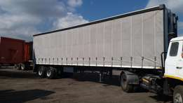 2017 Trailer Kings 12.5 m Double axle tau tliner.
